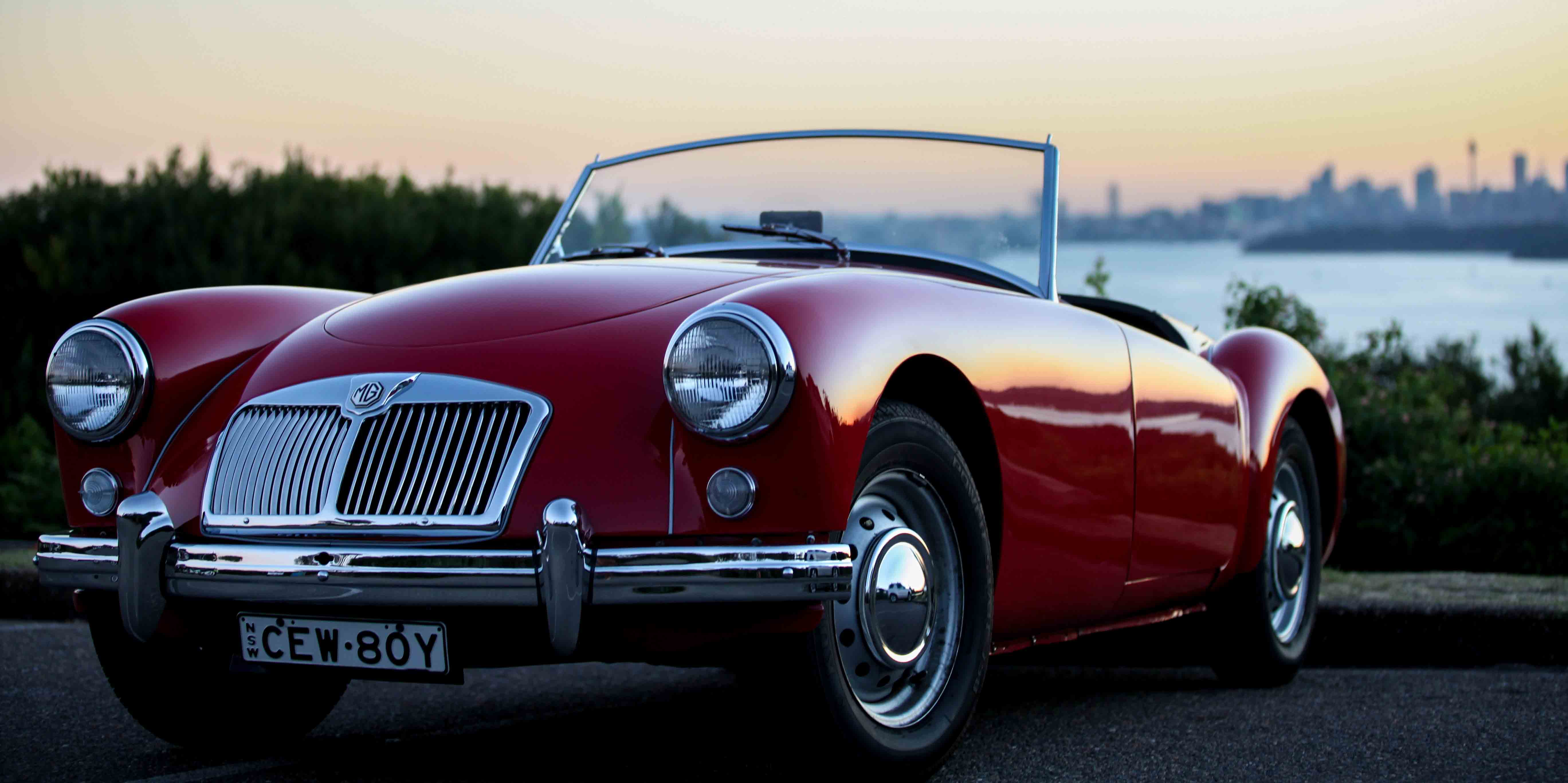Sydney Classic Car Hire For Photoshoots Or Wedding